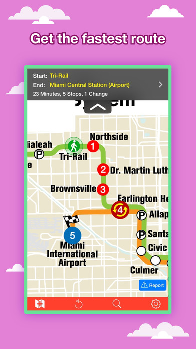 Miami Maps - Download Transit Maps and Tourist Guides. iPhone Screenshot 2