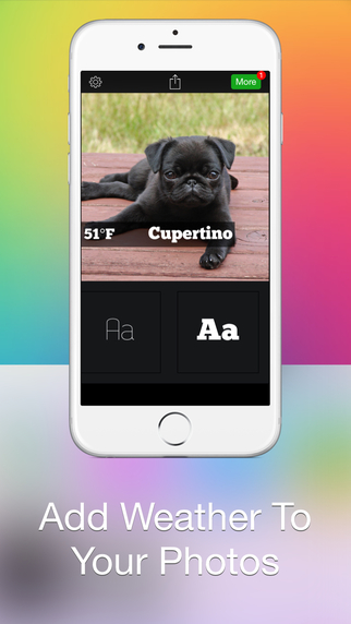 Weathergram - Weather And Temperature For Instagram