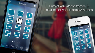Videocollage The Best Free Professional Video Collage Maker Vid Frames Creator And Pic Collage App For Vine Instagram And Youtube Photo Video Itunes Apple Infinity Loop
