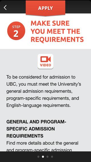 University of British Columbia iPhone Screenshot 4