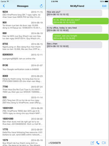 Message Backup Reader Screenshots