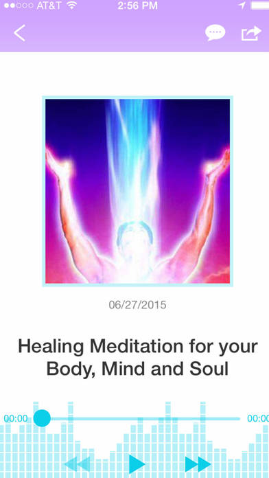 Guided Meditation for Healing the Body, Mind and Soul!-Jafree Ozwald iPhone Screenshot 2