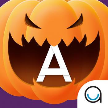 Pumpkin Trace Halloween: Uppercase Alphabet Tracing Playtime for Kids FULL LOGO-APP點子
