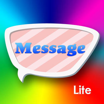 Color text message Lite 社交 App LOGO-APP試玩