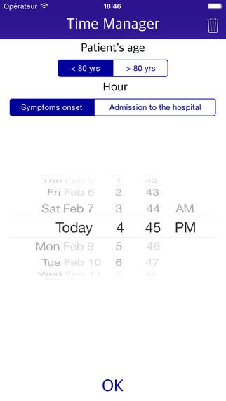 NIH Score rt-PA checklist