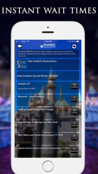 玩旅遊App|MouseWait Disneyland Wait Times FREE免費|APP試玩