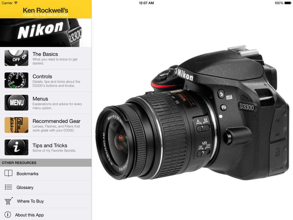 App Shopper: Ken Rockwell's Nikon D3300 Guide (Photography)