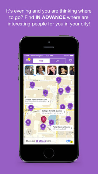 LookOutMe -YES Dating Love Chat - find out close to you