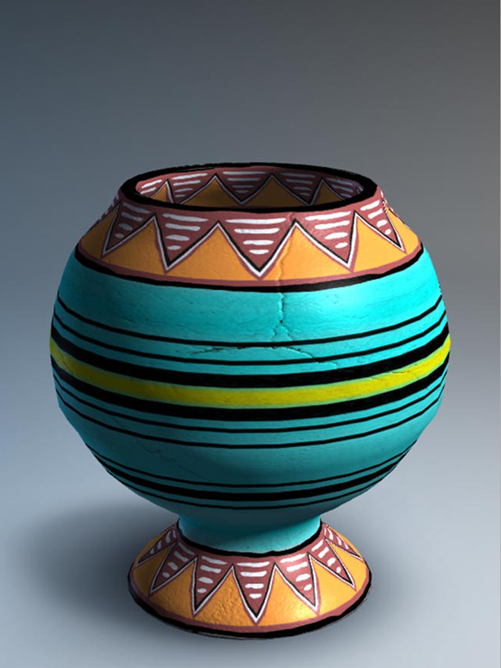 Pottery Designs HD - Creative Vase Paintings & Cool Pots Painting ...