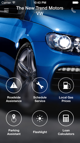 Trend Motors VW DealerApp