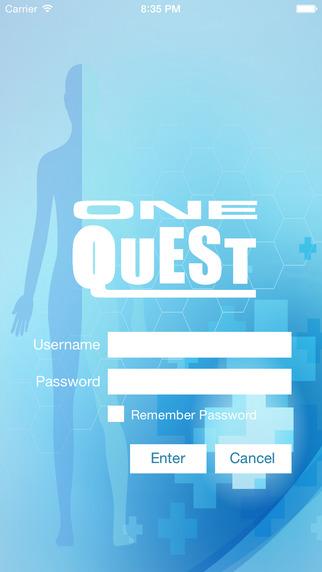 ONEQUEST Patient App