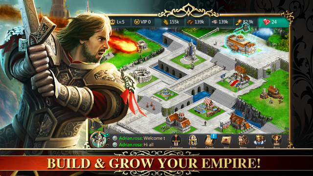 Empire and Glory:Nation Battle Dragon Knights HD Version