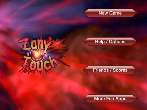 Zany Touch Free iPad Screenshot 2