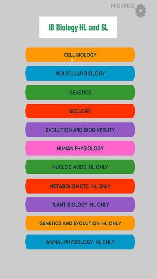 IB Biology SL and HL Key Terms Games