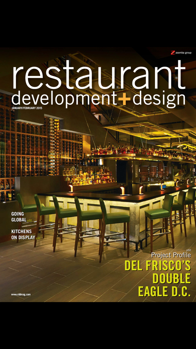 Restaurant development and design ios
