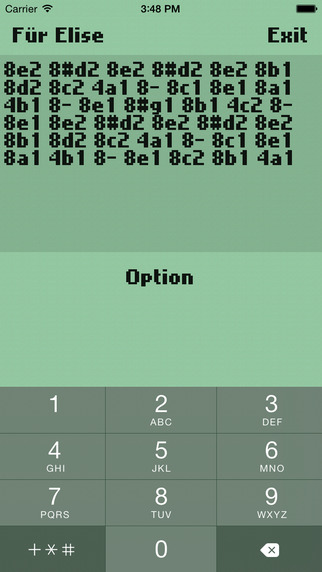 Composer monophonic ringtone oldstyle Screenshots