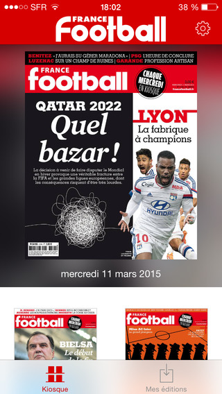 France Football - Le magazine de tous les footballs ballon d'or ligue 1 euro mercato ligue des champ