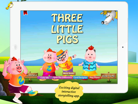 The Three Pigs for Children by Story Time for Kids
