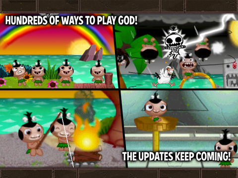 Pocket God iPad Screenshot 3