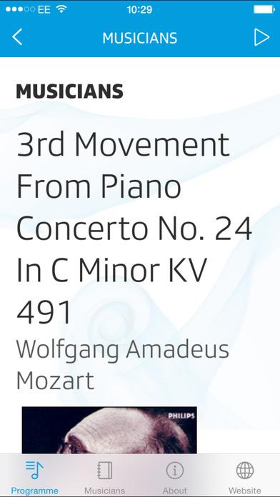 Radio Swiss Classic iPhone Screenshot 2