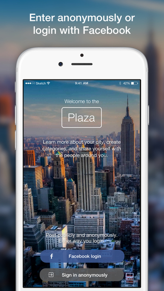 Plaza - The social network for cities