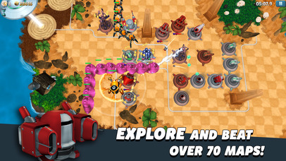 Screenshots of Tower Madness 2: #1 in Great Strategy TD Games for iPhone