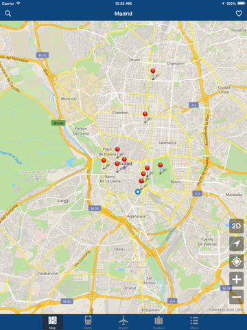 Madrid Offline Map - City Metro Airport Screenshots