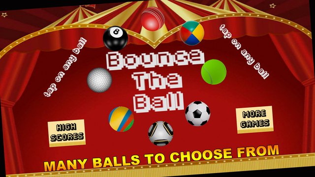Bounce The Ball - Tap Game