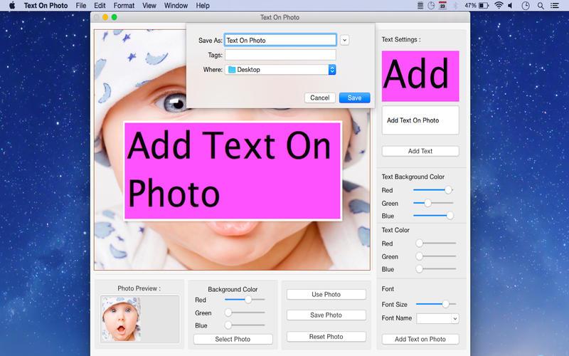 Text On Photo Screenshot - 5