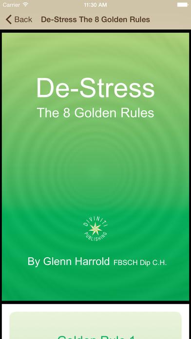 Beach Meditation by Glenn Harrold: Self-Hypnosis Relaxation for Sleep iPhone Screenshot 5