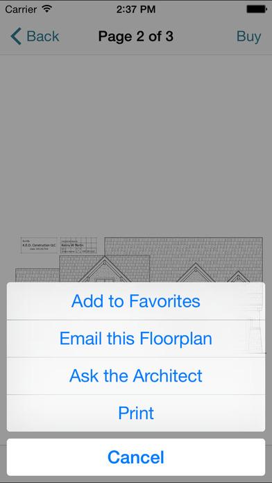 Square Foot: Floor Plans iPhone Screenshot 5