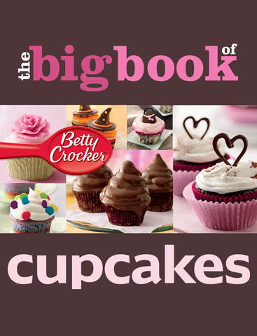 Cupcake Recipes: Betty Crocker The Big Book of Series screenshot