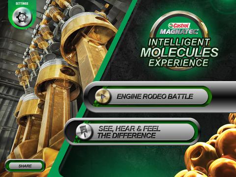 Castrol Magnatec Intelligent Molecules Experience HD