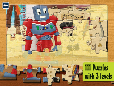 Kids Puzzles 4+: Jigsaw Puzzle School Learning Game for Preschoolers and Toddlers to Develop Concent