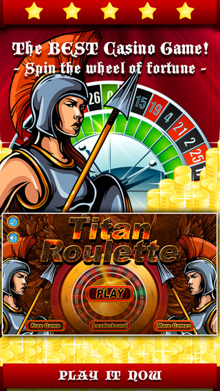 A-Aaron Titan's Myth Roulette - Spin the slots wheel to hit the riches of pantheon casino