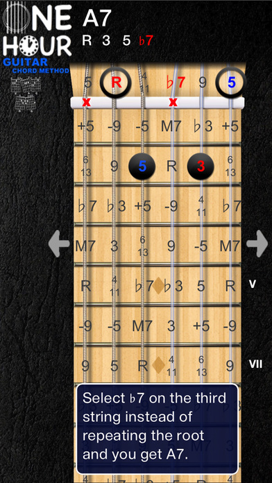 OneHour Guitar Chord Method Apps for iPhone/iPad screenshot