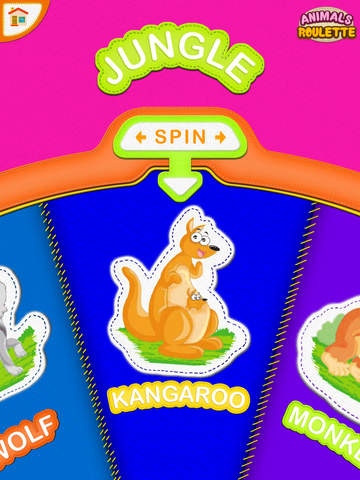 Animals Roulette PRO - Sounds and Noises for Kids.screeshot 3