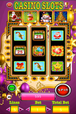 777 Awesome Free Slots-Play Casino Of Merry Christmas Day screenshot 3