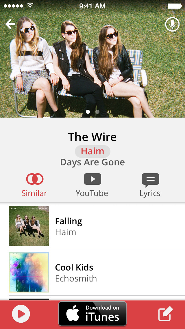 MusicID with Lyrics screenshot 2