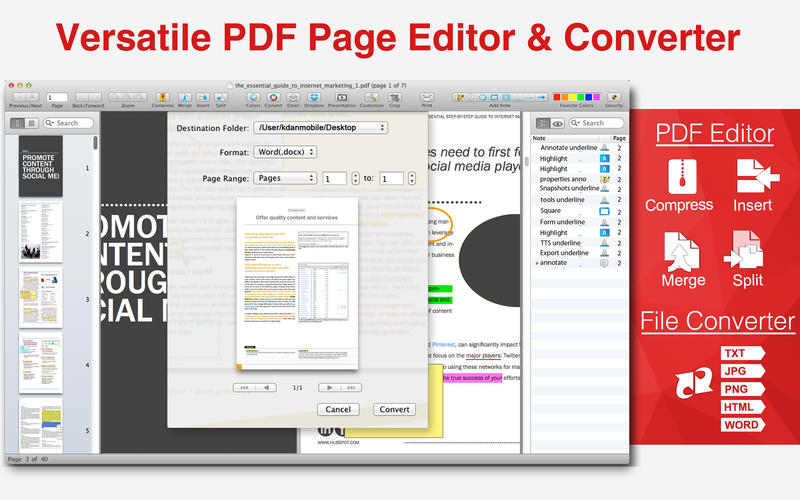 pdf read and write software free