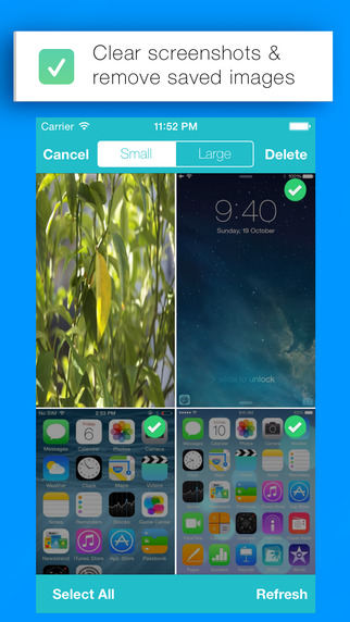 Wiper - Remove Screenshots and Saved Images from Camera Roll
