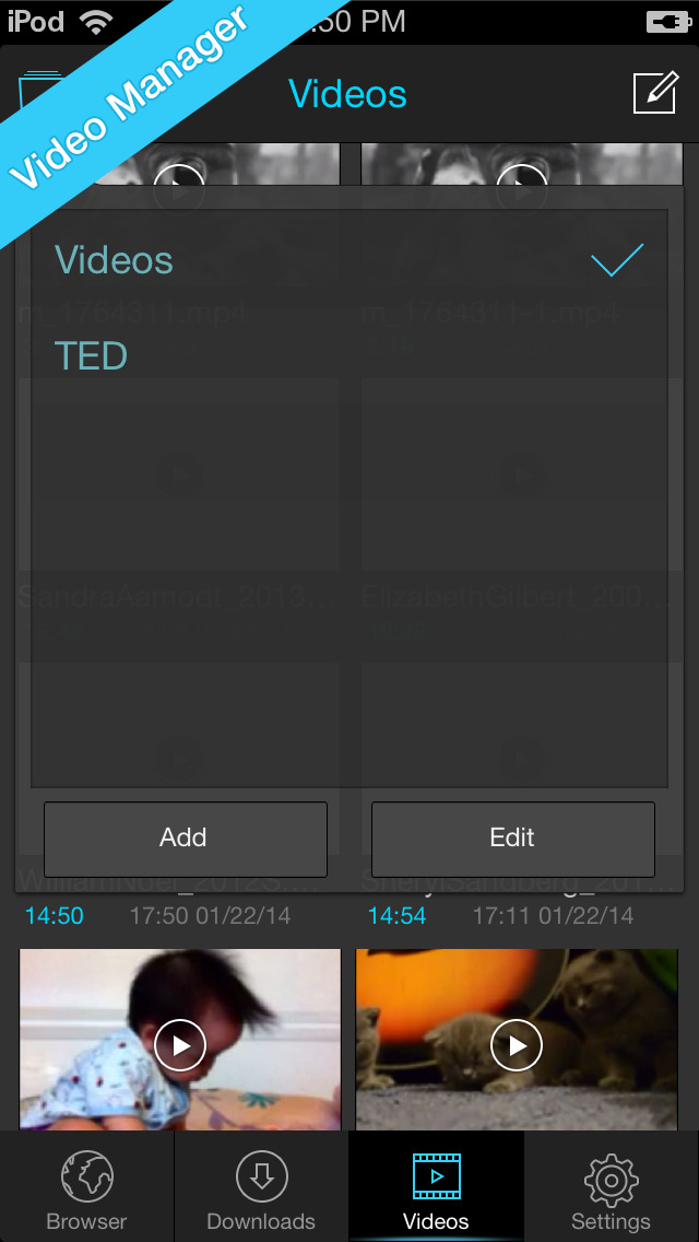 Video Download & Player - Titan  Downloader screenshot 4