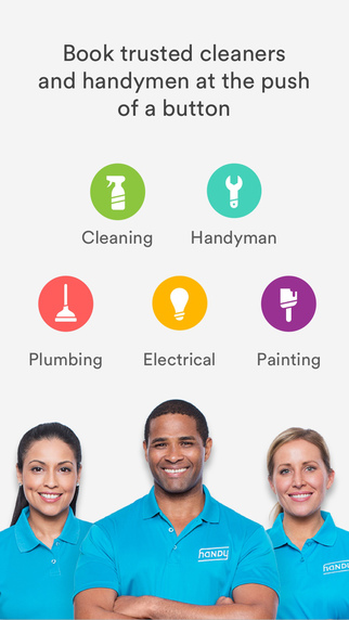 Handy - Book trusted home cleaners handymen