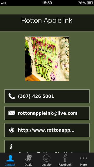 Rotton Apple Ink