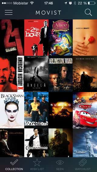 MOVIST - Your Personal Movie List