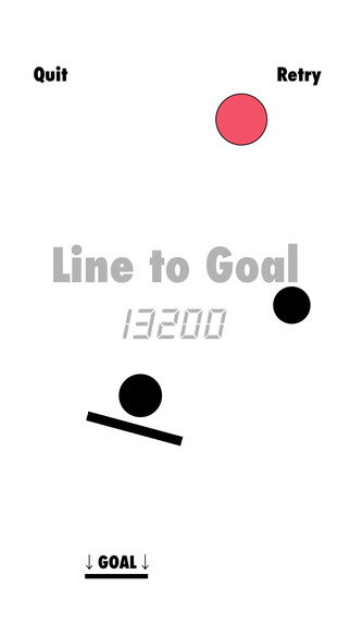 Line to Goal