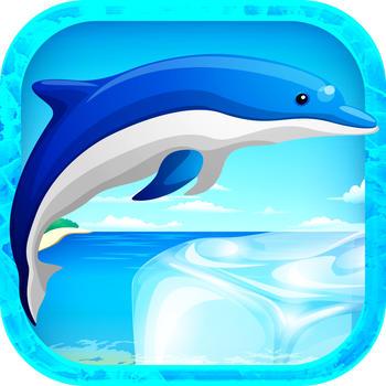 Jump Dolphin Beach Show - Ocean Tale Jumping Game LOGO-APP點子