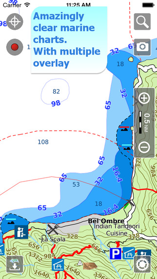 Aqua Map Seychelles - Marine GPS Offline Nautical Charts for Traveling Boating Fishing and Sailing