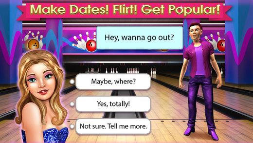 High School Life -- Flirt Date Dance with Boyfriends Free Girls Game