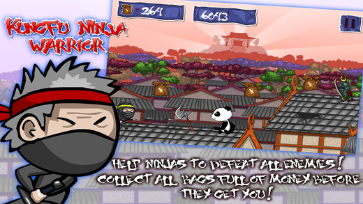 Ninja Fighter: Kungfu World Run Full Version